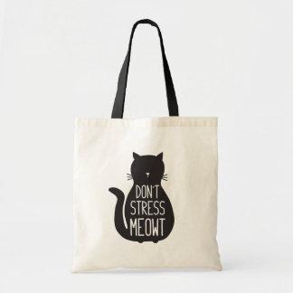 L'amoureux des chats drôle ne soumettent pas à une tote bag