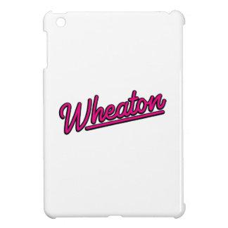 Lampe au néon de Wheaton en magenta Coque Pour iPad Mini