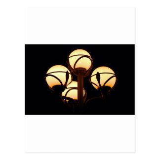 Lampe de gaz carte postale