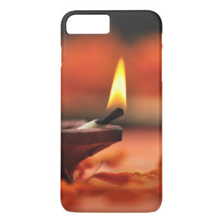 Lampe sainte pour le festival de Diwali Coque iPhone 7 Plus