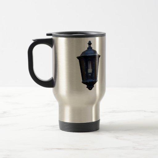 Lampe vintage de réverbère mugs