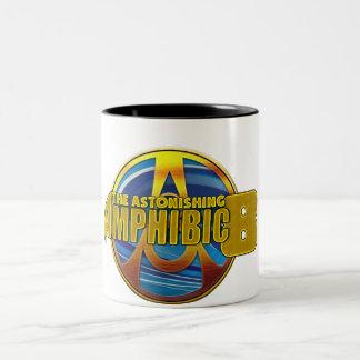 L'Amphibic étonnant 8 Tasse 2 Couleurs