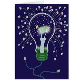 L'ampoule tient le premier rôle la carte