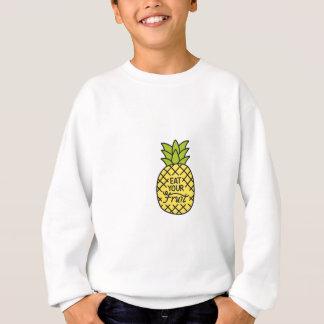 """L'ANANAS, des chemises """"mangent de votre fruit"""", Sweatshirt"""