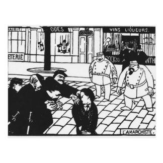 L'anarchiste, 1892 carte postale