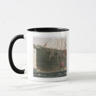 Lançant la balise, le 8 août 1865, repérage mug