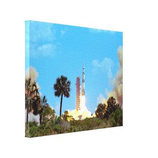 Lancement d'Apollo 16 Impressions Sur Toile