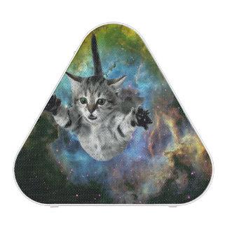 Lancement de chaton d'univers de chat de galaxie haut-parleur bluetooth