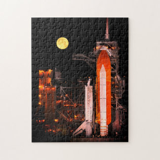 Lancement de navette spatiale de la NASA la nuit Puzzle