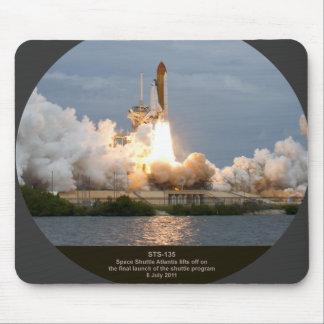Lancement final STS-135 l'Atlantide de navette spa Tapis De Souris