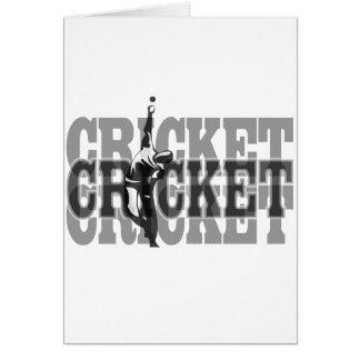 Lanceur de cricket cartes
