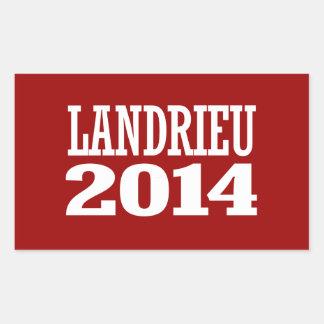 LANDRIEU 2014 AUTOCOLLANTS EN RECTANGLE