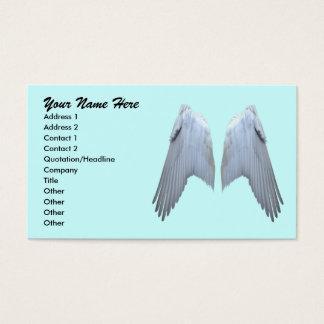L'ange s'envole des cartes de visite