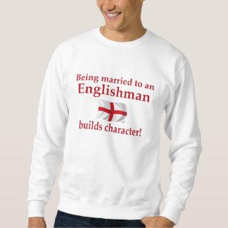 L'anglais établit le caractère sweat-shirts