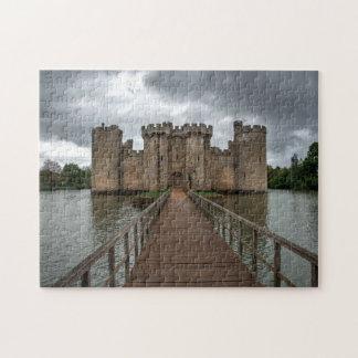 L'anglais historique se retranche le château le puzzle