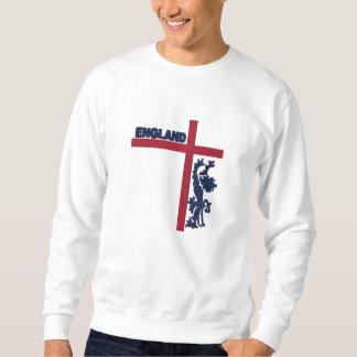 L'Angleterre a brodé le sweatshirt des hommes