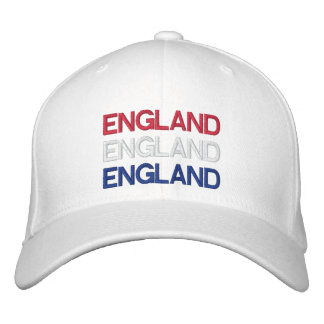 L'ANGLETERRE CASQUETTE BRODÉE