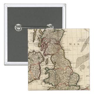 L'Angleterre, Ecosse, l'Europe Badges
