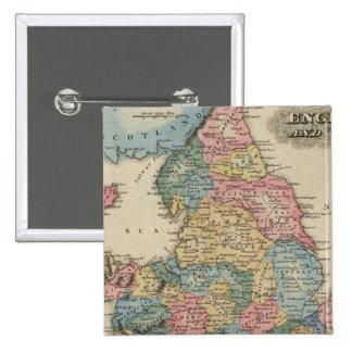 L'Angleterre et le Pays de Galles 2 Pin's