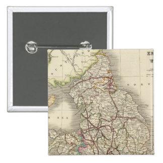 L'Angleterre et le Pays de Galles 3 Badges