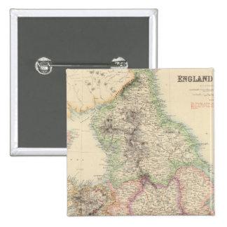 L'Angleterre et le Pays de Galles 4 Badges