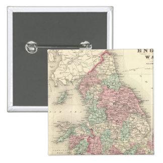 L'Angleterre et le Pays de Galles 5 Badges