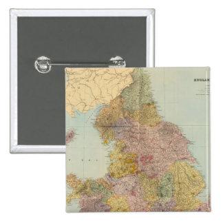 L'Angleterre et le Pays de Galles composés Badges