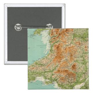 L'Angleterre et le Pays de Galles, îles du sud-oue Badges