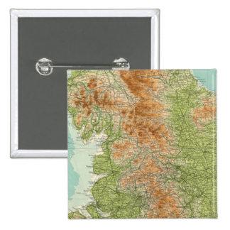 L'Angleterre et le Pays de Galles, section du nord Pin's