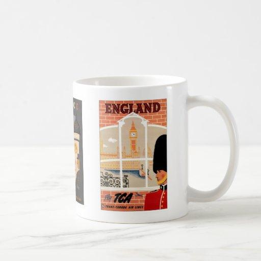 L'Angleterre, la France et la tasse de voyage