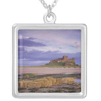L'Angleterre, le Northumberland, château de Pendentif Carré