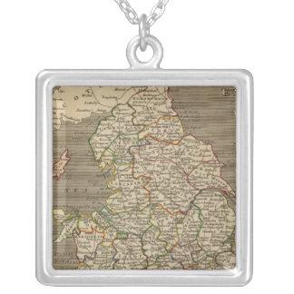 L'Angleterre, Pays de Galles 2 Pendentif Carré