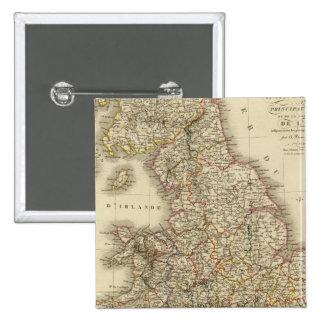 L'Angleterre, Pays de Galles Badges