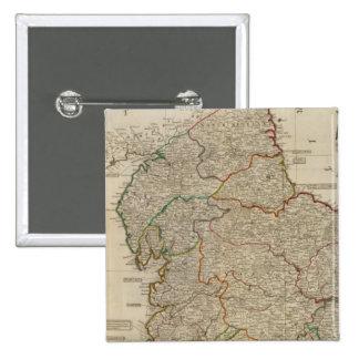 L'Angleterre, Pays de Galles du nord Badges