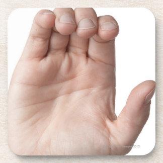 Langue des signes américaine 21 dessous-de-verre