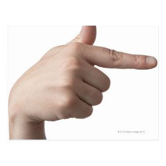 Langue des signes américaine 28 carte postale