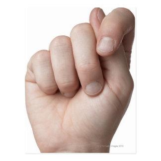 Langue des signes américaine 9 carte postale