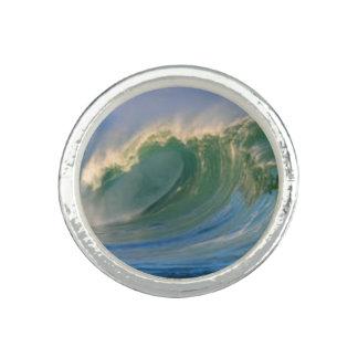 L'anneau des vagues bague