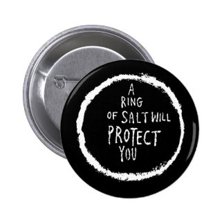 L'anneau du sel vous protégera ! pin's