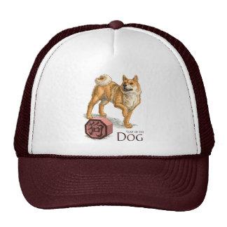 L'année du chien casquettes de camionneur