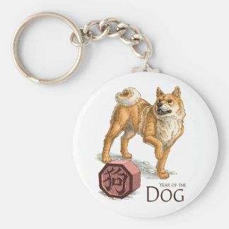 L'année du chien porte-clé