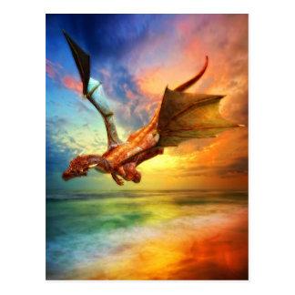 L'année du dragon carte postale