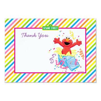 L'anniversaire de la fille d'Elmo Carton D'invitation 8,89 Cm X 12,70 Cm