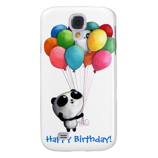 L'anniversaire monte en ballon l'ours panda