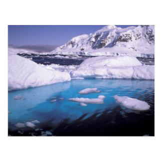 L'Antarctique. Expédition par les icescapes 2 Cartes Postales