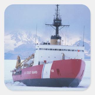 L'Antarctique, île de Ross, station de McMurdo, Sticker Carré