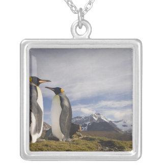 L'Antarctique, île du sud R-U de la Géorgie), roi Pendentif Carré