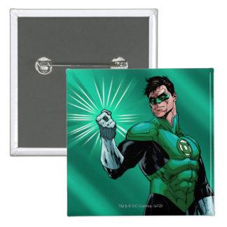 Lanterne et anneau verts badges
