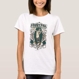 """Lanterne verte - affiche """"courageuse"""" t-shirt"""