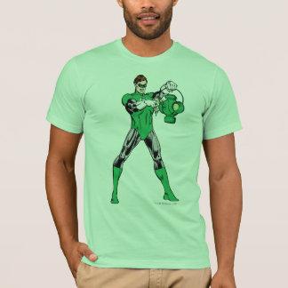 Lanterne verte avec la lanterne t-shirt